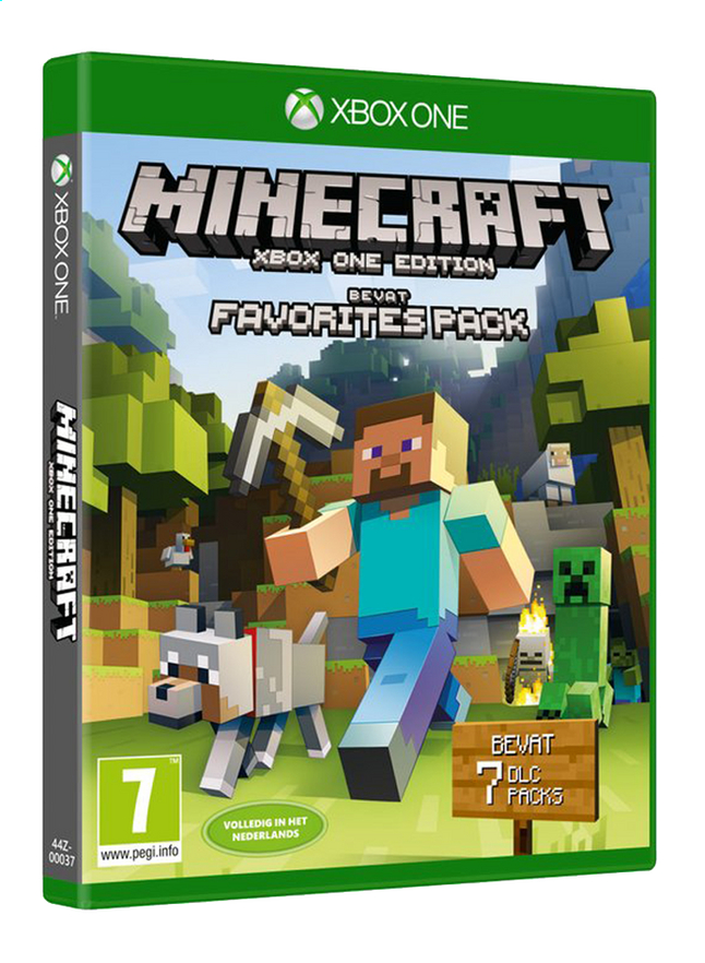 Afbeelding van XBOX One Minecraft Favorites Pack NL from DreamLand