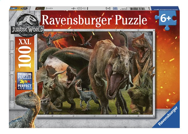 Afbeelding van Ravensburger XXL puzzel Jurassic World II Fallen Kingdom from DreamLand