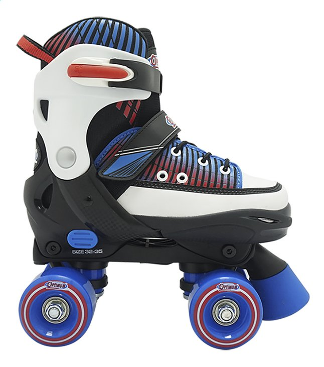 Optimum patins à roulettes bleu pointure 32/35