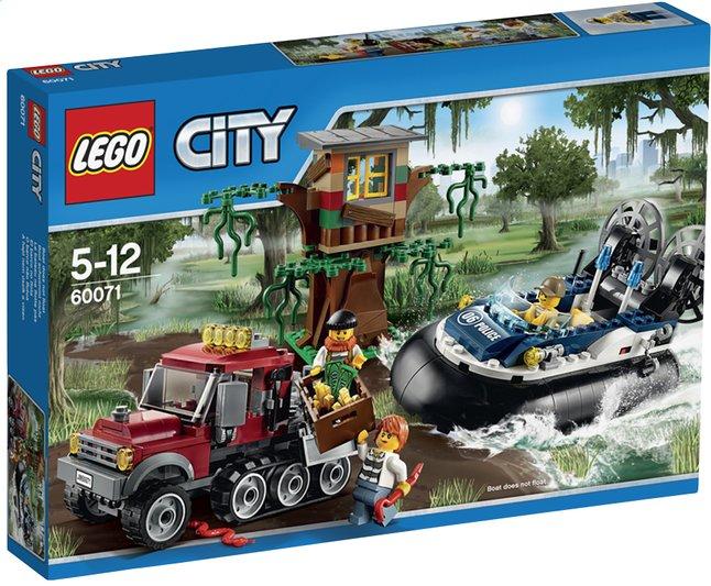Afbeelding van LEGO City 60071 De arrestatie op de hovercraft from DreamLand