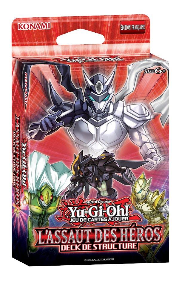Yu-Gi-Oh! Jeu de cartes à jouer Deck de Structure L'Assaut des Héros