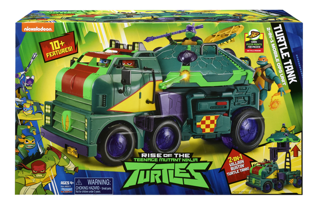 Afbeelding van Teenage Mutant Ninja Turtles Turtle Tank 2-in-1 Mobile Ops Unit from DreamLand