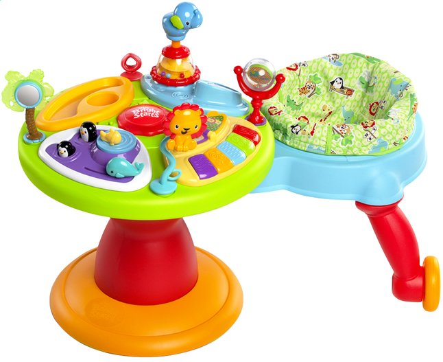 Afbeelding van Bright Starts activiteitentafel Activity Center Zippity Zoo 3-in-1 Around We Go! from DreamLand