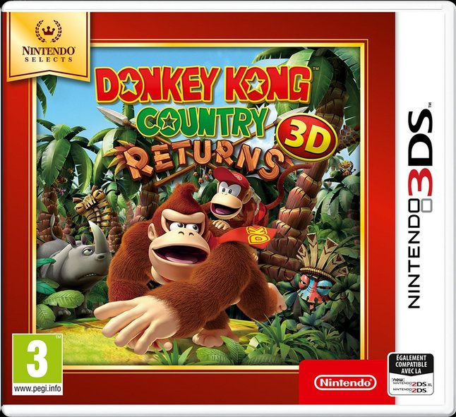 Nintendo 3DS Donkey Kong Country Returns 3D FR