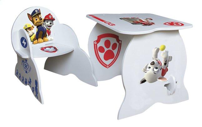 Afbeelding van PAW Patrol tafel en stoel met stickers from DreamLand