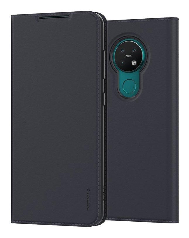 Nokia foliocover Slim Flip Case pour Nokia 6.2 & 7.2 noir