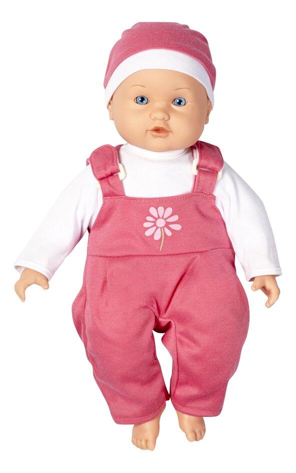 Image pour DreamLand poupée souple Ma première poupée salopette rose à partir de DreamLand