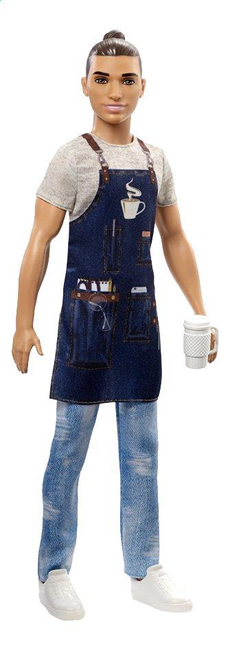 Afbeelding van Barbie mannequinpop Careers Ken Barista from DreamLand