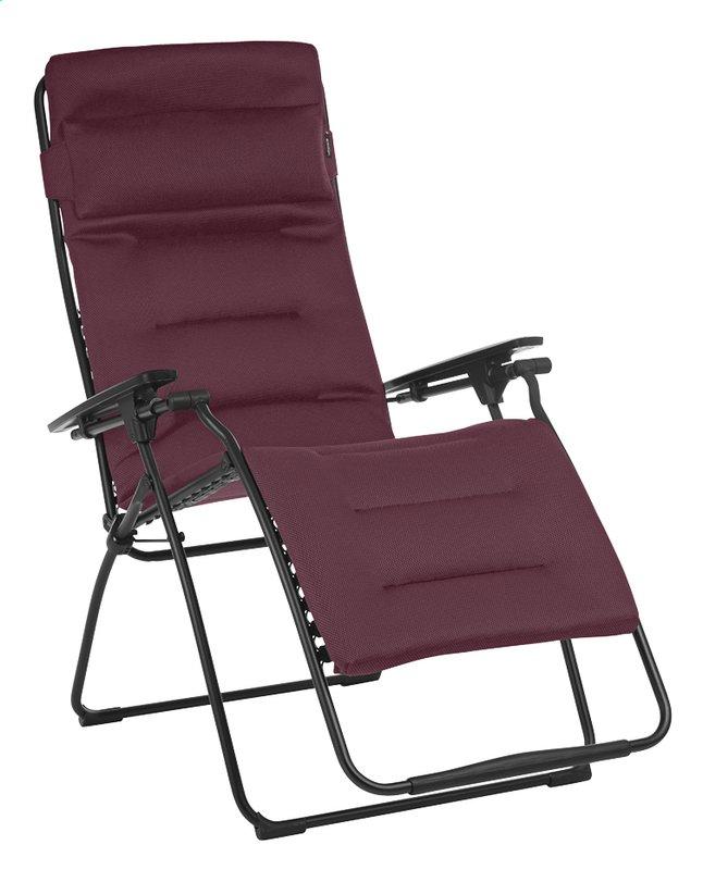 Lafuma Chaise longue Futura XL Air Comfort bordeaux | DreamLand on chaise recliner chair, chaise sofa sleeper, chaise furniture,