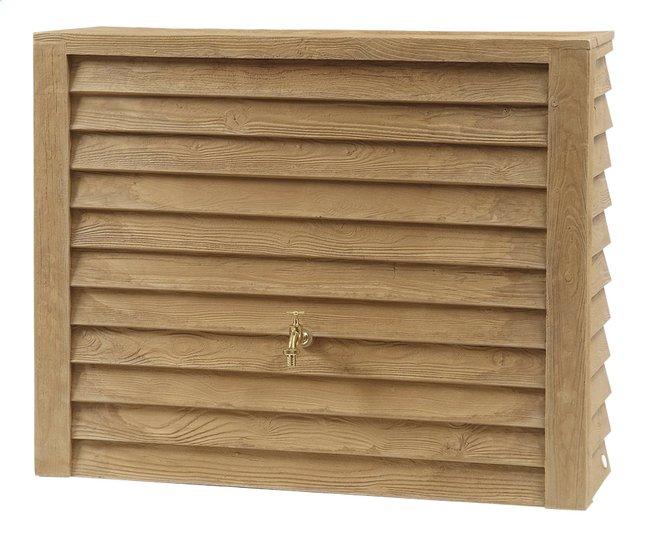 Garantia Tonneau de pluie Woody aspect bois clair 350 l