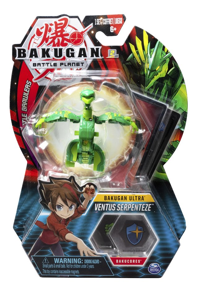 Bakugan Ultra Ball Pack - Ventus Serpenteze