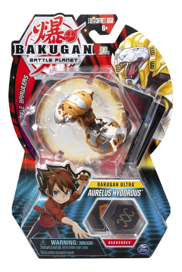 Bakugan Ultra Ball Pack - Aurelus Hydorous