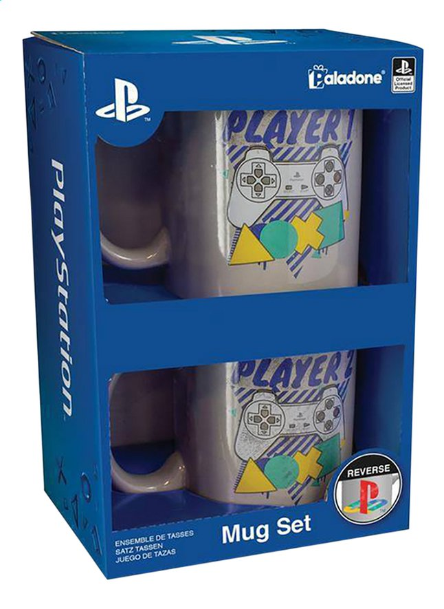 Mok Playstation Player One and Player Two