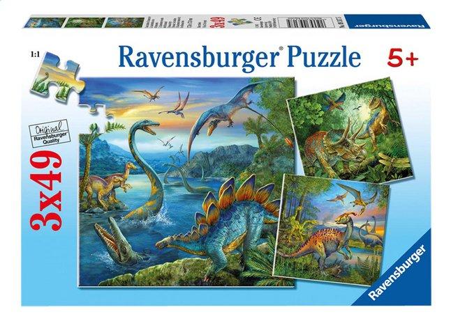 Image pour Ravensburger puzzle 3 en 1 La fascination des dinosaures à partir de DreamLand