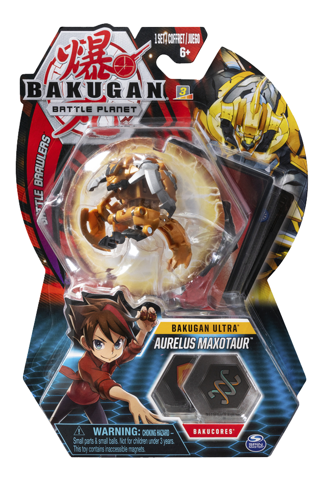 Bakugan Ultra Ball Pack - Aurelus Maxotaur