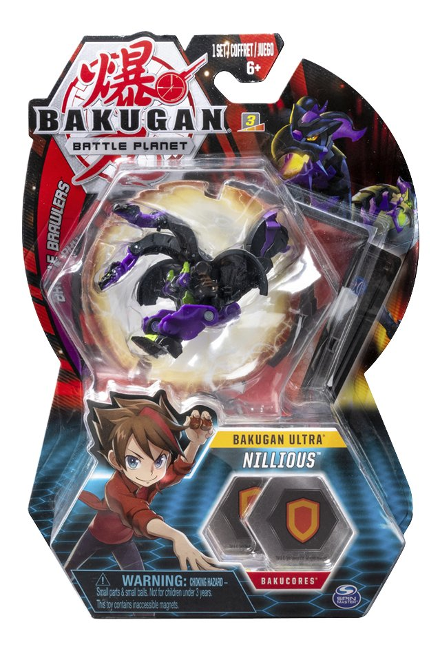 Bakugan Ultra Ball Pack - Nillious