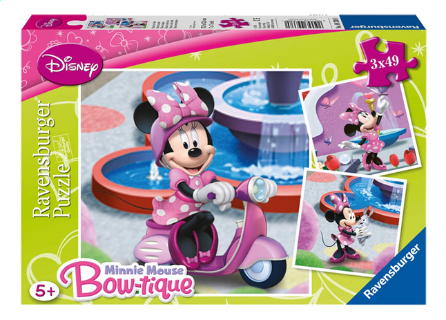 Afbeelding van Ravensburger 3-in-1 puzzel Minnie in het park from DreamLand
