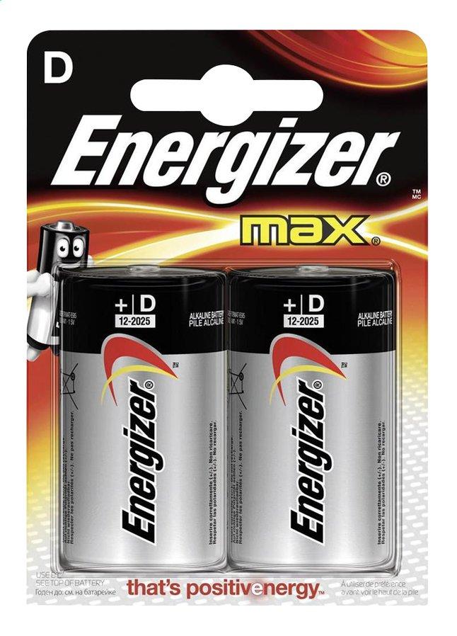 Image pour Energizer Max pile D - 2 pièces à partir de DreamLand
