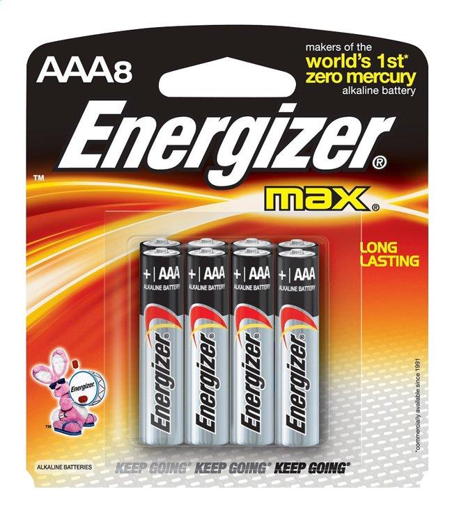 Image pour Energizer Max pile AAA - 8 pièces à partir de DreamLand