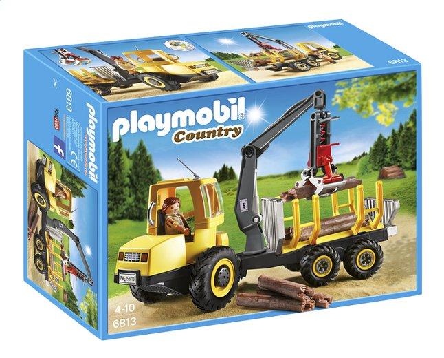 Afbeelding van Playmobil Country 6813 Houttransport met kraan from DreamLand