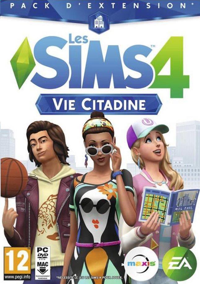 Afbeelding van PC De Sims 4: Expansion Pack - Stedelijk leven FR from DreamLand