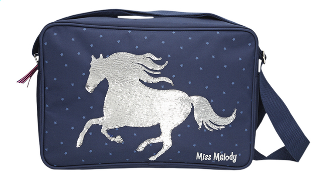 724c4f14929 Afbeelding van Schoudertas Miss Melody blauw/zilver from DreamLand