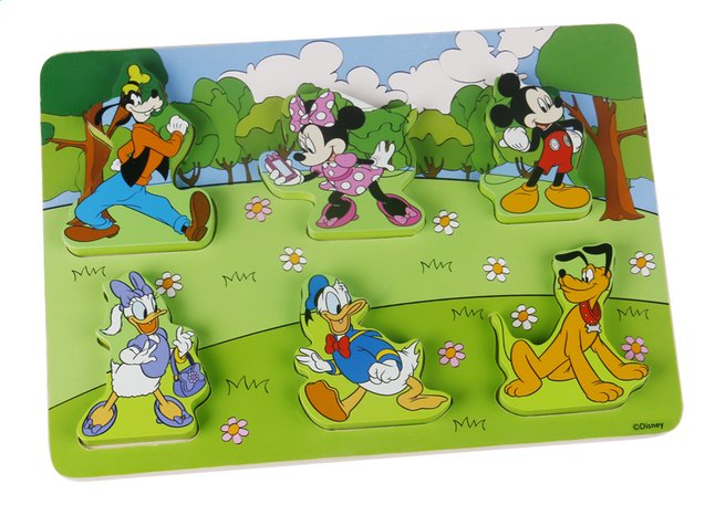 Puzzle en bois Disney Baby Mickey Mouse