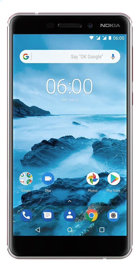 Nokia smartphone 6.1 wit
