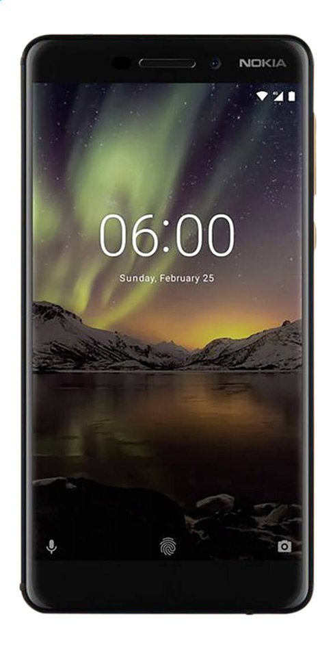Image pour Nokia smartphone 6.1 noir à partir de DreamLand