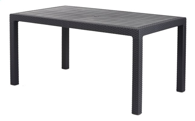 Image pour Allibert table de jardin Melody Graphite 160 x 95 cm à partir de DreamLand