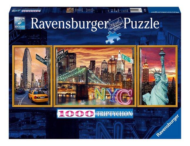 Image pour Ravensburger puzzle New York en lumière à partir de DreamLand