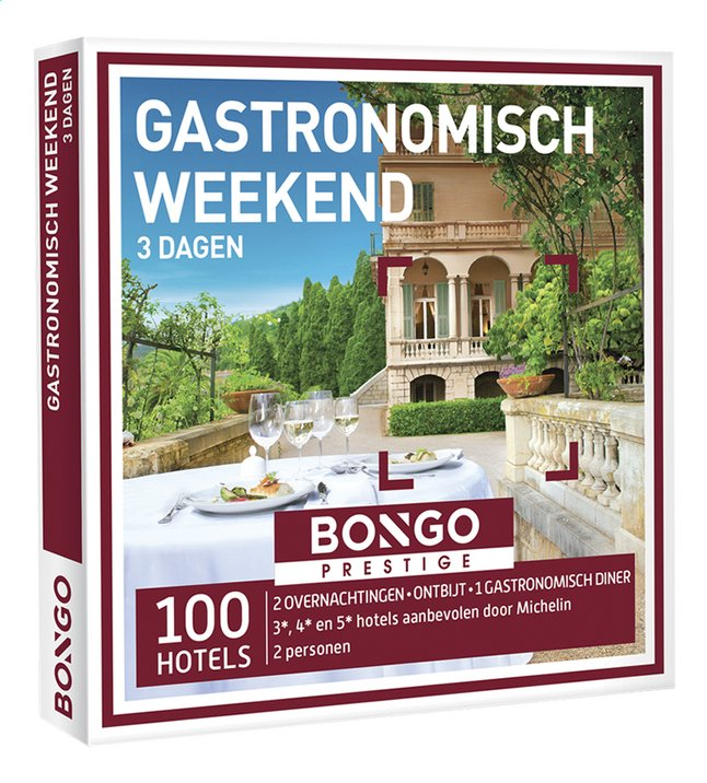 Afbeelding van Bongo Gastronomisch Weekend 3 dagen from DreamLand