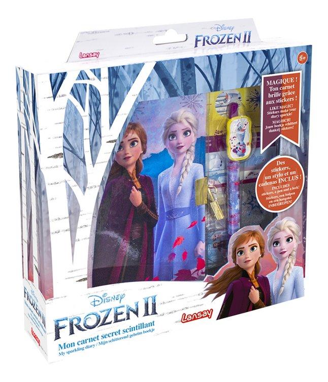 Lansay Disney La Reine des Neiges II Mon carnet secret scintillant