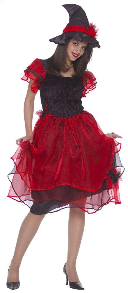 Image pour Déguisement de sorcière rouge taille 42 à partir de DreamLand