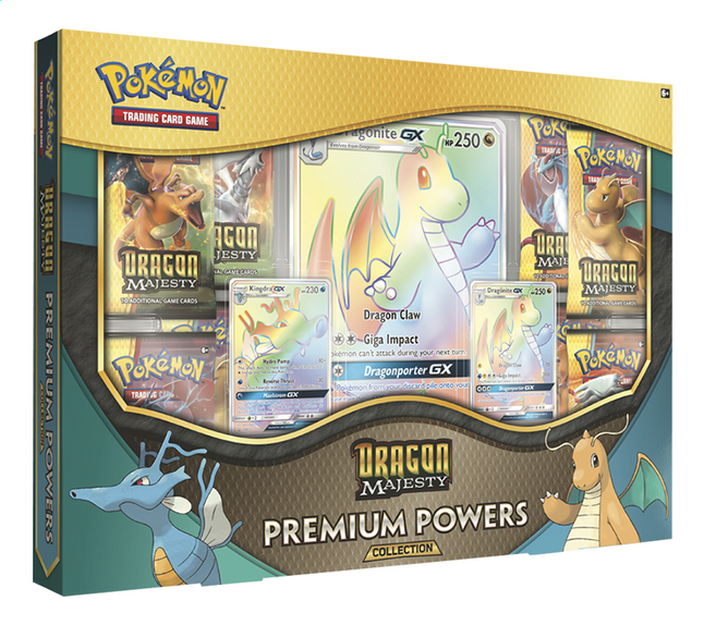 Afbeelding van Pokémon Trading Cards Dragon Majesty Premium Powers Collection from DreamLand