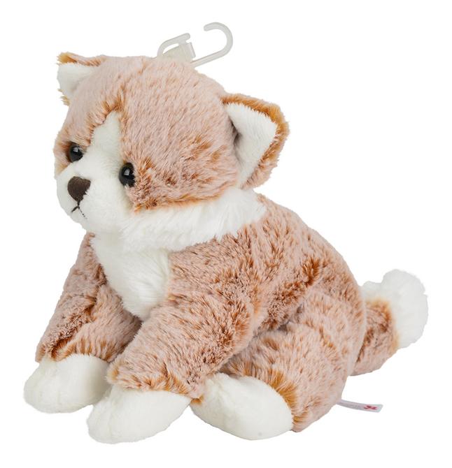 Afbeelding van Nicotoy knuffel zittende kat bruin 23 cm from DreamLand