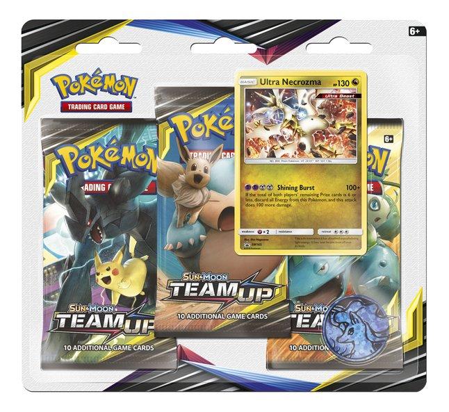 Image pour Pokémon Trading Cards Sun & Moon 9 - 3 Pack Blister Ultra Necrozma ANG à partir de DreamLand