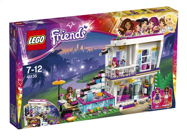 Afbeelding van LEGO Friends 41135 Popsterrenhuis from DreamLand