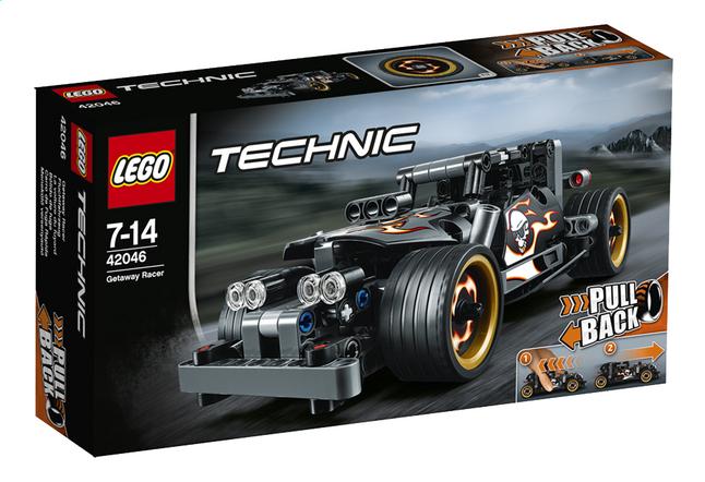 Afbeelding van LEGO Technic 42046 Ontsnappingsracer from DreamLand