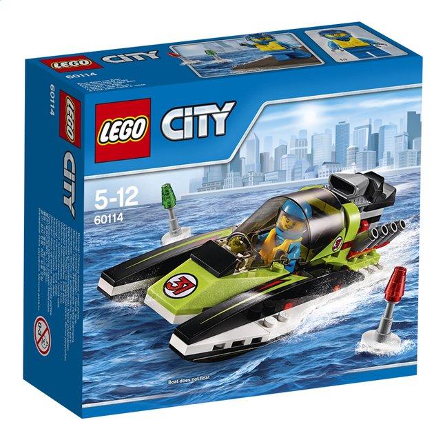 Afbeelding van LEGO City 60114 Raceboot from DreamLand
