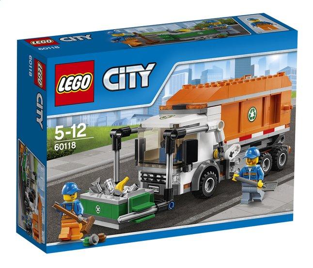 Afbeelding van LEGO City 60118 Vuilniswagen from DreamLand