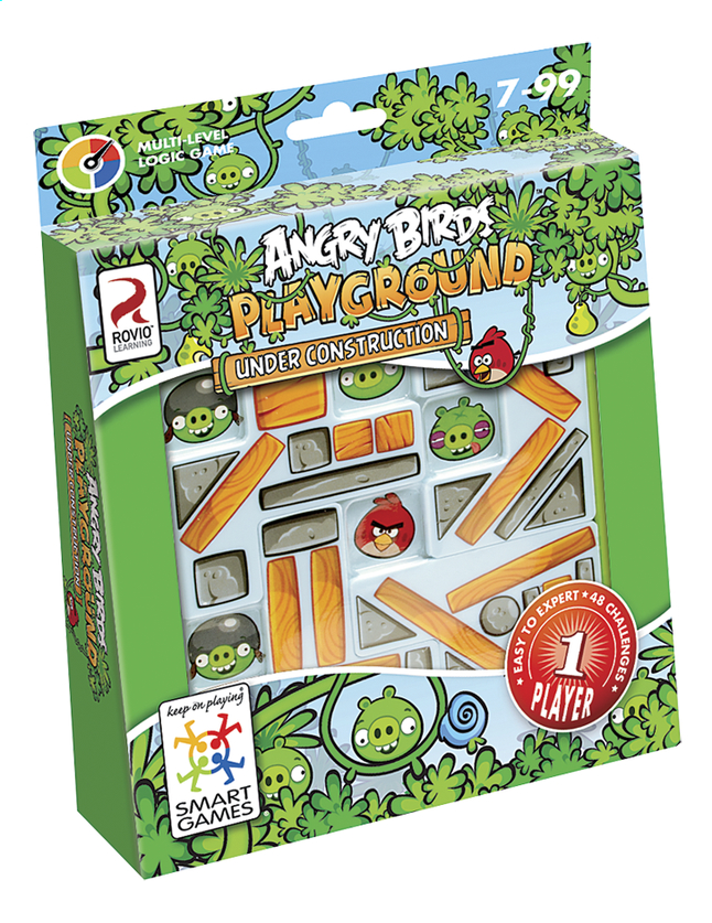 Afbeelding van Angry Birds Playground Under Construction from DreamLand