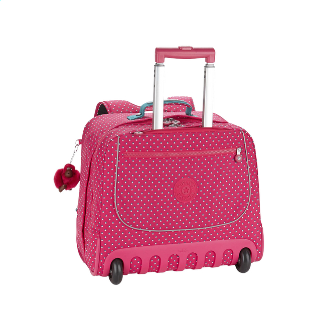 Cartable à roulettes Kipling Clas Dallin 42.5 cm True Pink rose toeaE
