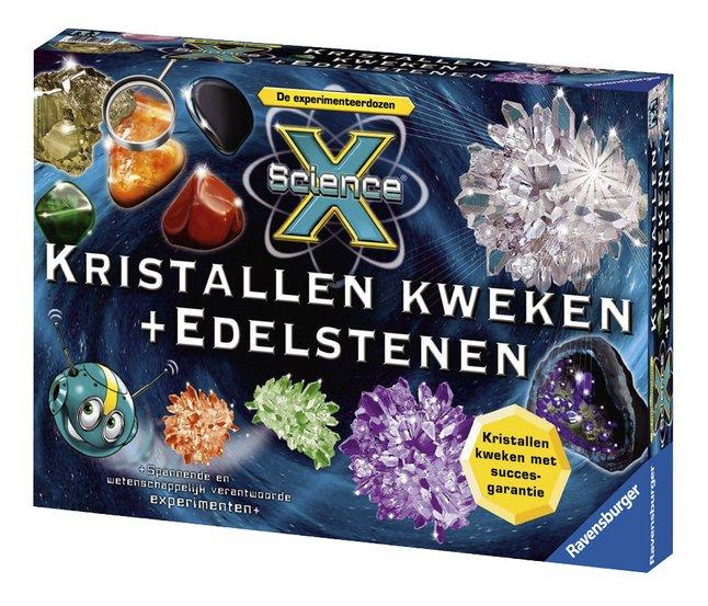 Afbeelding van Ravensburger Science X: Kristallen kweken + Edelstenen from DreamLand