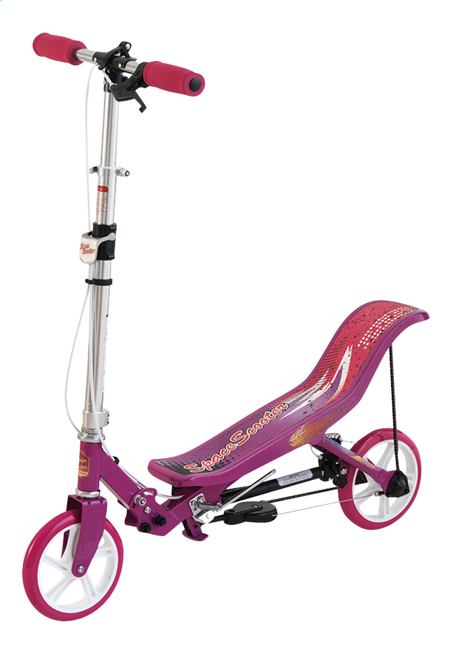 Afbeelding van Step Space Scooter roze from DreamLand