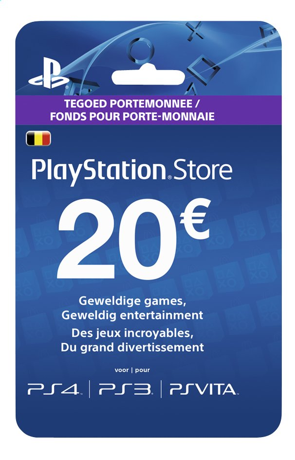 Afbeelding van PlayStation Store Network Card 20 euro from DreamLand