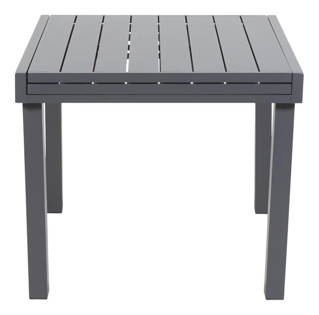 Table de jardin Modulo anthracite 90 x 90 cm