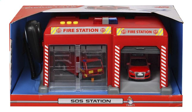 Afbeelding van Dickie Toys speelset SOS station Brandweer België from DreamLand