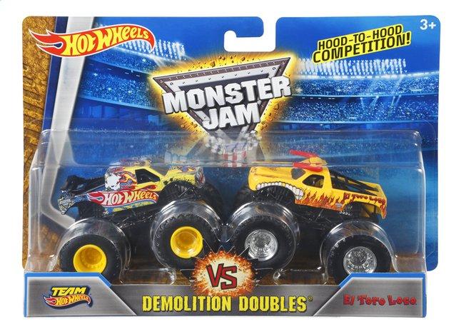 Afbeelding van Hot Wheels Monster Truck Demolition Doubles Team Hot Wheels VS El Toro Loco from DreamLand