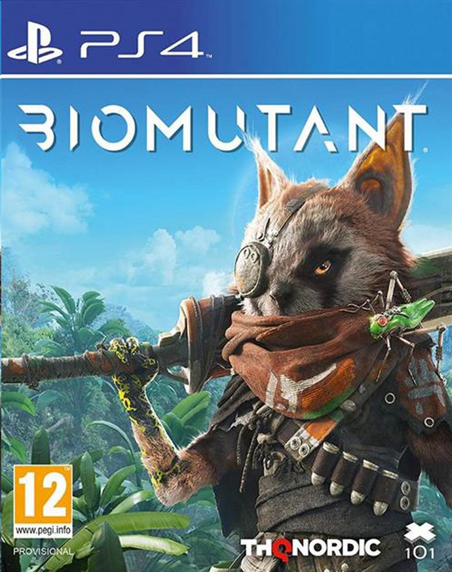 Afbeelding van PS4 Biomutant ENG/FR from DreamLand